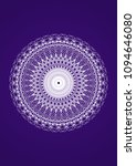 openwork circular pattern white ... | Shutterstock .eps vector #1094646080