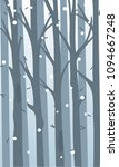 background with a thicket of... | Shutterstock .eps vector #1094667248