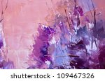 Painting Abstract With Oil...