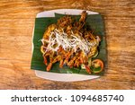 grilled king prawns with lime... | Shutterstock . vector #1094685740