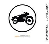 motorcycle  icon. vector...   Shutterstock .eps vector #1094693054