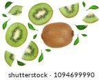 Sliced Kiwi Fruit Decorated...