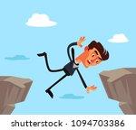 unfortunate businessman office... | Shutterstock .eps vector #1094703386