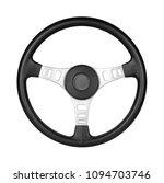 steering wheel  isolated on the ... | Shutterstock . vector #1094703746