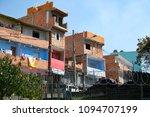houses in paraisopolis  one of...   Shutterstock . vector #1094707199