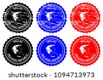 greece   rubber stamp   vector  ...   Shutterstock .eps vector #1094713973
