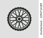 bicycle wheel  icon  isolated.... | Shutterstock .eps vector #1094714189