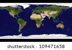 Big Size Physical World Map...