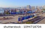 hong kong circa december 2017....   Shutterstock . vector #1094718704