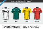 football players uniform ... | Shutterstock .eps vector #1094723069