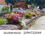 beautuful schiltach in black... | Shutterstock . vector #1094723549