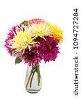 bouquet flower of beautiful...   Shutterstock . vector #1094727284