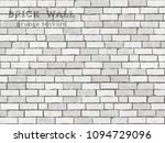 Old White Brick Wall Texture...