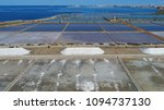 aerial picture of trapani salt... | Shutterstock . vector #1094737130