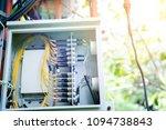 telephone transmitter... | Shutterstock . vector #1094738843