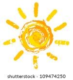 sun logo. vector illustration | Shutterstock .eps vector #109474250