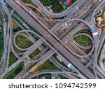 high angle looking top down... | Shutterstock . vector #1094742599