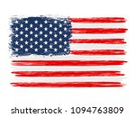 usa colorful brush strokes... | Shutterstock .eps vector #1094763809