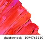 smudged lipstick isolated on... | Shutterstock . vector #1094769110