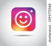 social media instagram smile...   Shutterstock .eps vector #1094770568