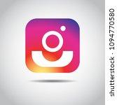 social media instagram icon...   Shutterstock .eps vector #1094770580