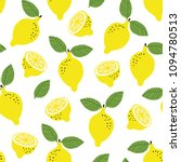 hand drawn seamless pattern... | Shutterstock .eps vector #1094780513