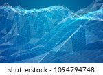 abstract vector background with ... | Shutterstock .eps vector #1094794748