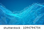 abstract vector background with ... | Shutterstock .eps vector #1094794754