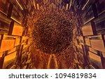 3d rendering of digital... | Shutterstock . vector #1094819834