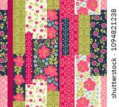 seamless pattern with... | Shutterstock .eps vector #1094821238