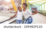 happy young mother having fun... | Shutterstock . vector #1094829110