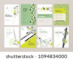 set of brochure and annual... | Shutterstock .eps vector #1094834000