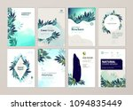 set of brochure and annual... | Shutterstock .eps vector #1094835449