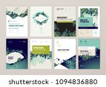 set of brochure and annual... | Shutterstock .eps vector #1094836880