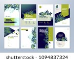 set of brochure and annual... | Shutterstock .eps vector #1094837324