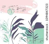 creative hand drawn textures.... | Shutterstock .eps vector #1094847323