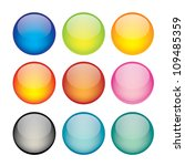 vector illustration of coloured ... | Shutterstock .eps vector #109485359