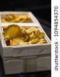 chanterelle mushrooms  in the...   Shutterstock . vector #1094854370