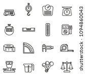 set icons of measuring tools... | Shutterstock .eps vector #1094860043