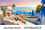 panoramic view of seaside and... | Shutterstock . vector #1094866829