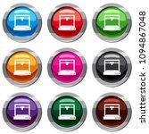 3d printer model set icon... | Shutterstock . vector #1094867048
