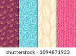 abstract decorative doodle... | Shutterstock .eps vector #1094871923