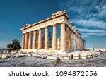 Parthenon On The Acropolis Of...