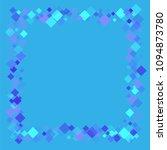 rhombus cosmic minimal... | Shutterstock .eps vector #1094873780