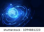 abstract digital technology... | Shutterstock .eps vector #1094881223