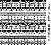 aztec tribal pattern  vector... | Shutterstock .eps vector #1094895890