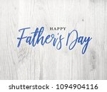 happy father's day blue... | Shutterstock . vector #1094904116