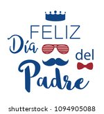 feliz dia del padre. happy... | Shutterstock .eps vector #1094905088