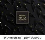 abstract 3d geometric... | Shutterstock .eps vector #1094905910