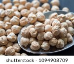 close up dried chickpeas on a... | Shutterstock . vector #1094908709